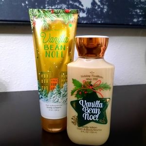 Bath & Body Works Vanilla Bean Noel Lotion Set